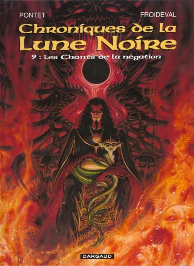 Couverture Chroniques de la lune noire tome 9 - les chants de la négation