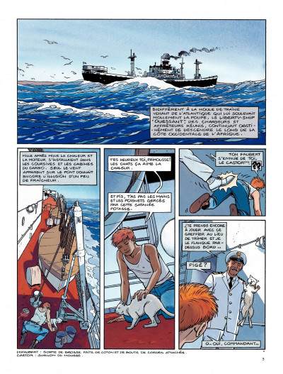 Page 1 Tramp tome 5 - la route de pointe-noire