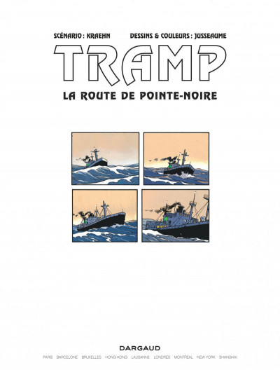 Page 3 Tramp tome 5 - la route de pointe-noire