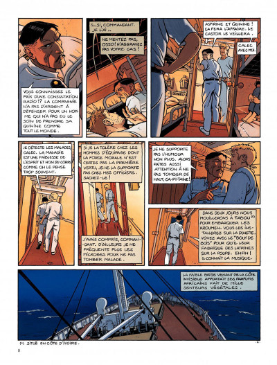Page 4 Tramp tome 5 - la route de pointe-noire