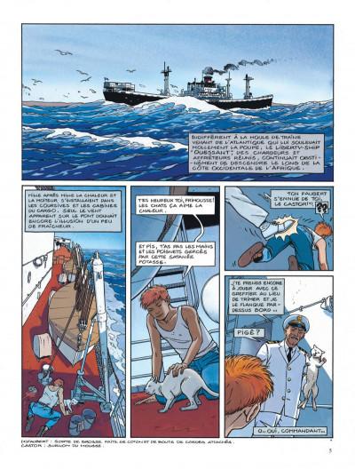 Page 5 Tramp tome 5 - la route de pointe-noire