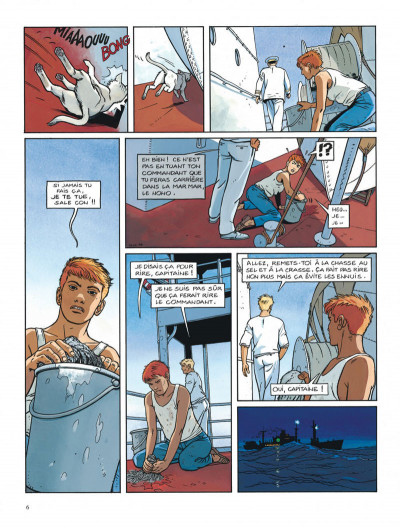 Page 6 Tramp tome 5 - la route de pointe-noire
