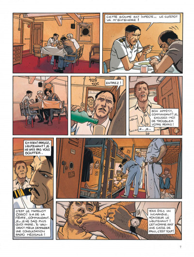 Page 7 Tramp tome 5 - la route de pointe-noire