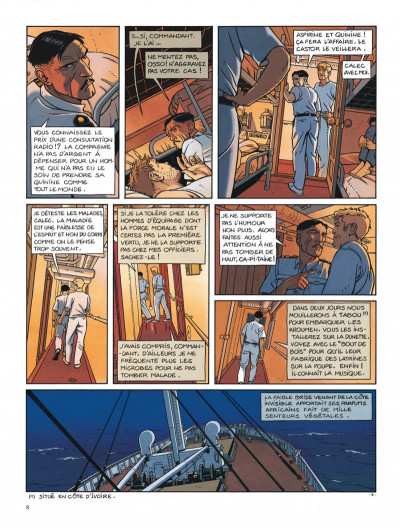 Page 8 Tramp tome 5 - la route de pointe-noire