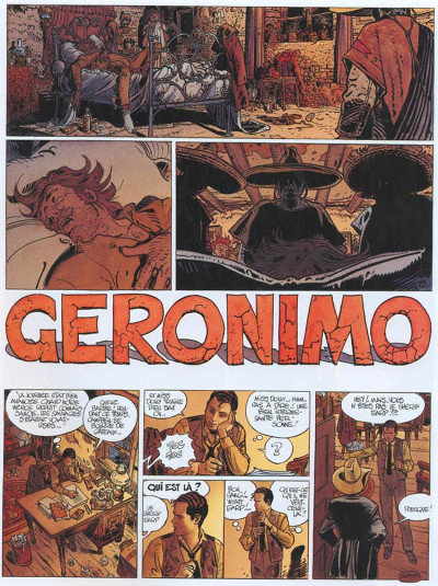 Page 2 Blueberry tome 26 - geronimo l'apache