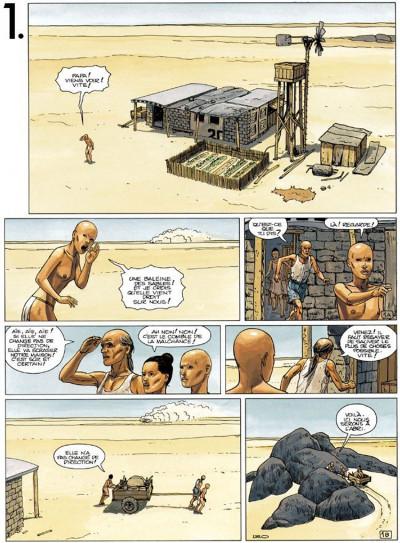 Page 1 Bételgeuse tome 1 - la planète