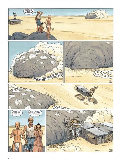 Page 2 Bételgeuse tome 1 - la planète