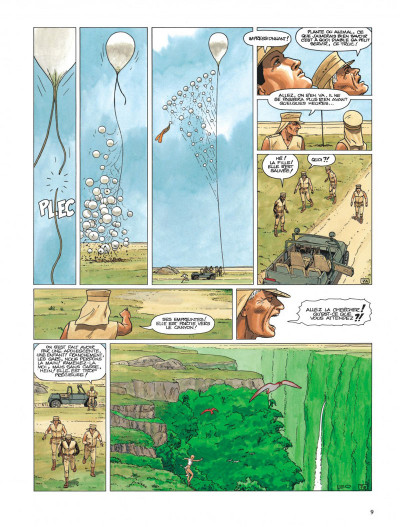 Page 7 Bételgeuse tome 1 - la planète