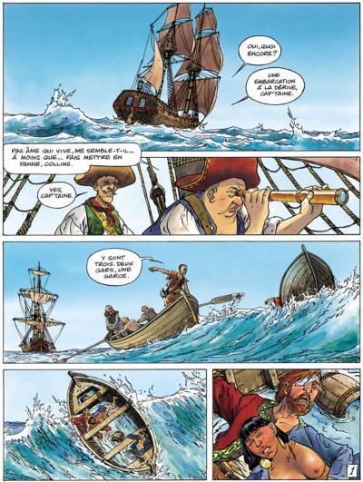 Page 1 La jeunesse de barbe rouge tome 5 - les mutinés de port royal