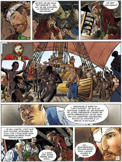 Page 2 La jeunesse de barbe rouge tome 5 - les mutinés de port royal