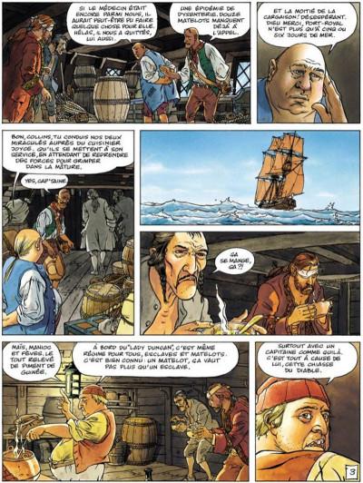 Page 3 La jeunesse de barbe rouge tome 5 - les mutinés de port royal