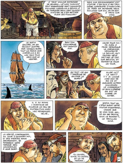 Page 4 La jeunesse de barbe rouge tome 5 - les mutinés de port royal