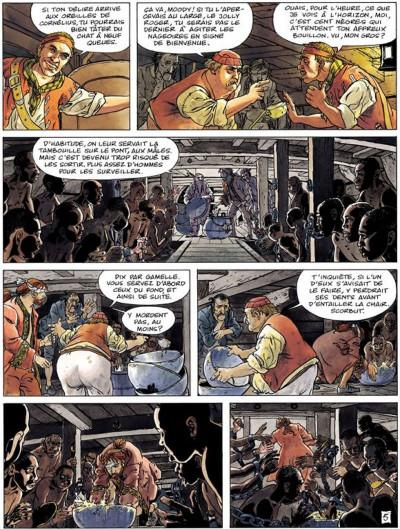 Page 5 La jeunesse de barbe rouge tome 5 - les mutinés de port royal