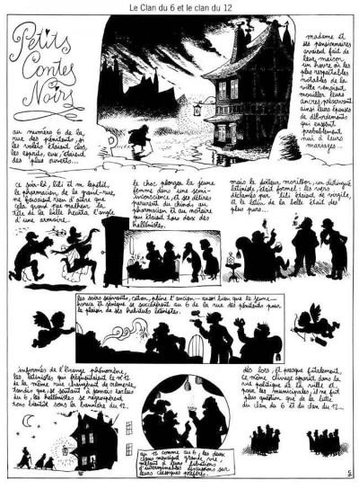 Page 5 Petits contes noirs tome 1 - la fin du monde et autres contes noirs