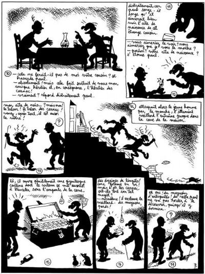 Page 3 Petits contes noirs tome 2 - la biologiste n'a pas de culotte
