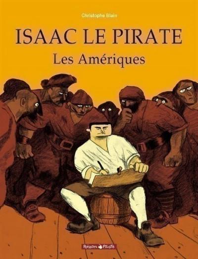 Couverture Isaac le pirate tome 1 - les amériques