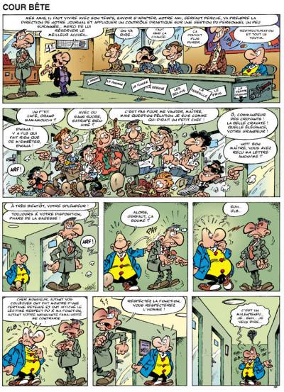 Page 2 achille talon tome 46 - le monde merveilleux du journal polite