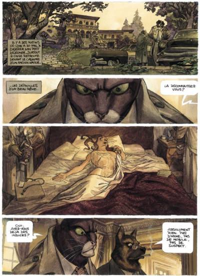 Page 1 Blacksad tome 1