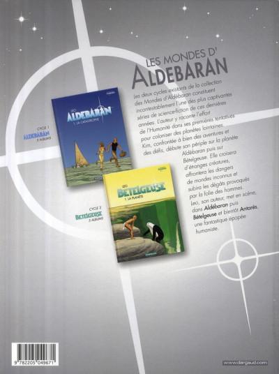 Dos Aldebaran tome 1 - la catastrophe