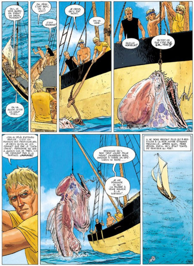 Page 4 Aldebaran tome 1 - la catastrophe