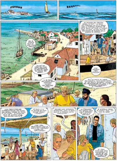Page 5 Aldebaran tome 1 - la catastrophe