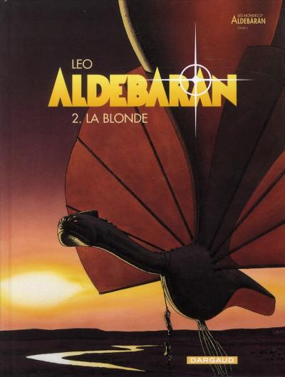 Couverture Aldebaran tome 2 - la blonde