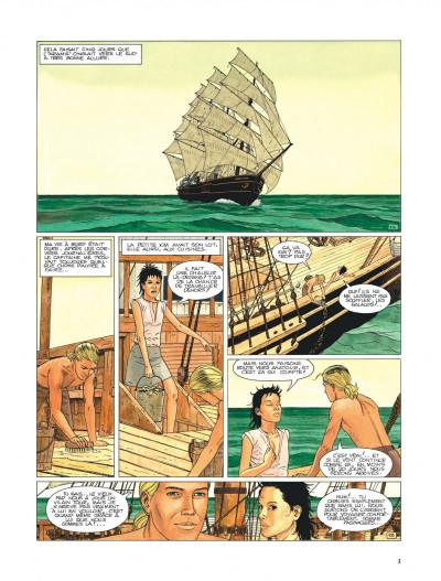 Page 3 Aldebaran tome 2 - la blonde