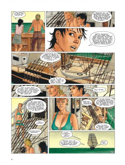 Page 4 Aldebaran tome 2 - la blonde