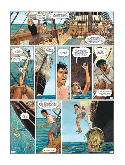 Page 7 Aldebaran tome 2 - la blonde