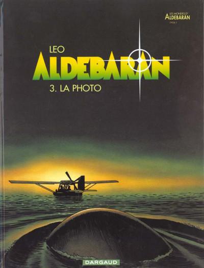 Couverture Aldebaran tome 3 - la photo