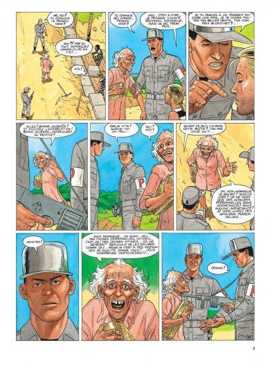 Page 5 Aldebaran tome 3 - la photo