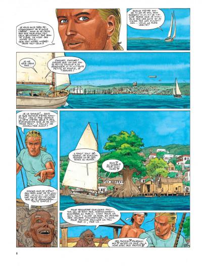 Page 8 Aldebaran tome 3 - la photo