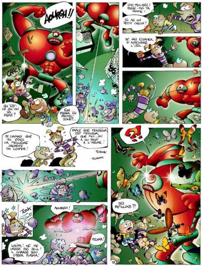 Page 4 Moustic tome 1 - bon millénaire m'sieur luberlu