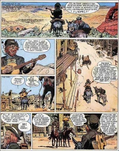 Page 1 Blueberry (pub) tome 6 - L'Homme à l'étoile d'argent