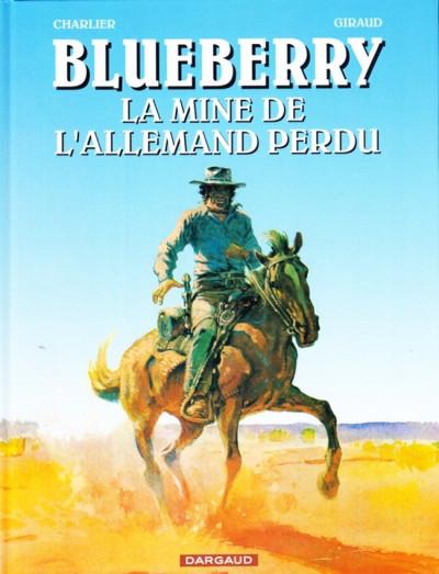 Couverture Blueberry (pub) tome 11 - La Mine de l'Allemand perdu