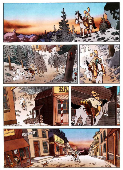 Page 1 Lapinot - les aventures extraordinaires de lapinot tome 1 - blacktown