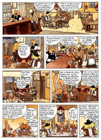 Page 2 Lapinot - les aventures extraordinaires de lapinot tome 1 - blacktown