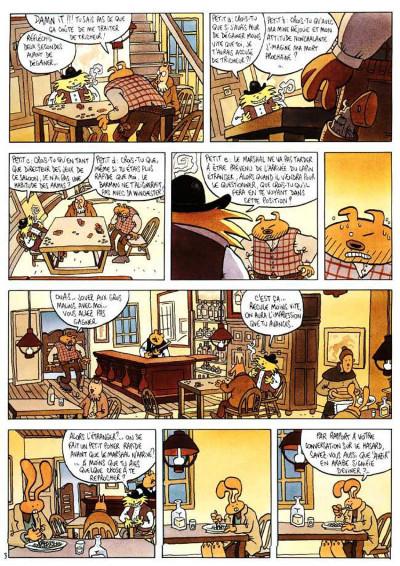 Page 3 Lapinot - les aventures extraordinaires de lapinot tome 1 - blacktown
