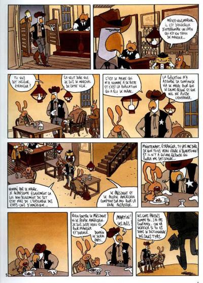 Page 5 Lapinot - les aventures extraordinaires de lapinot tome 1 - blacktown