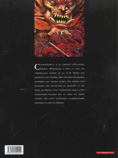Dos Chroniques de la lune noire tome 10 - l'aigle foudroyé