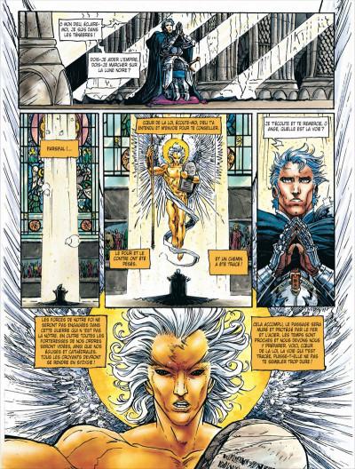 Page 8 Chroniques de la lune noire tome 10 - l'aigle foudroyé
