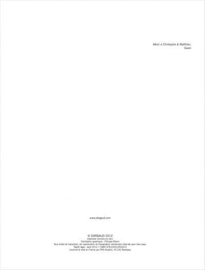 Page 3 Samedi et dimanche tome 1 - le paradis des cailloux