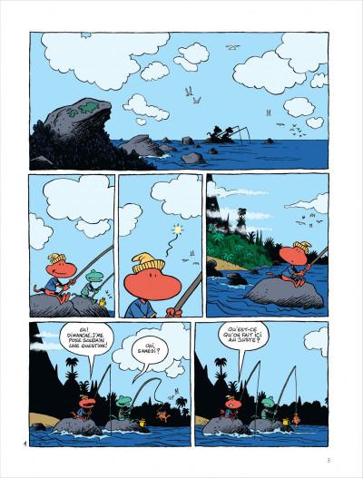 Page 4 Samedi et dimanche tome 1 - le paradis des cailloux