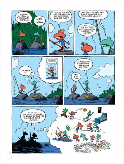 Page 5 Samedi et dimanche tome 1 - le paradis des cailloux