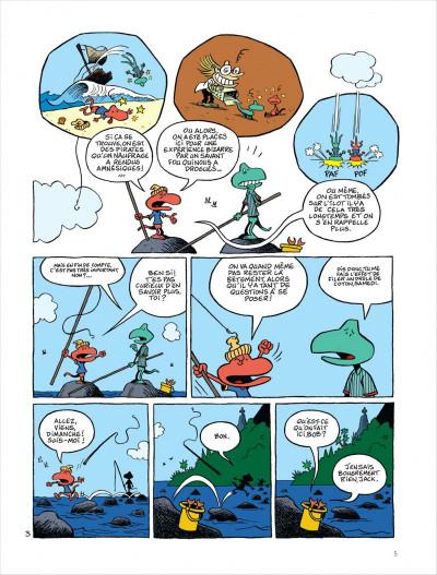 Page 6 Samedi et dimanche tome 1 - le paradis des cailloux