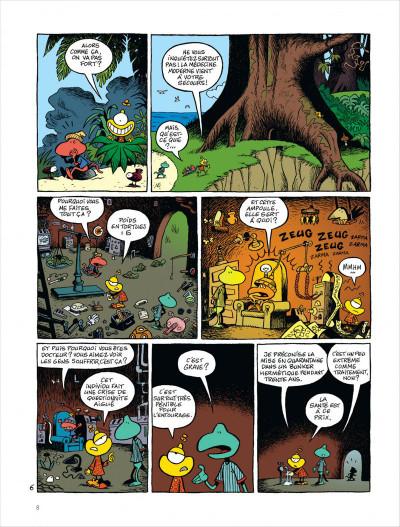 Page 9 Samedi et dimanche tome 1 - le paradis des cailloux