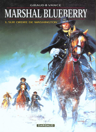 Couverture Marshall blueberry tome 1 - sur ordre de washington