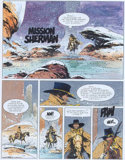 Page 1 Marshall blueberry tome 2 - mission sherman