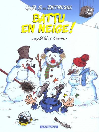 image de Crs = détresse tome 9 - battu en neige