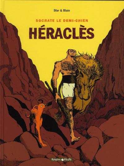 Couverture Socrate le demi-chien tome 1 - héraclès